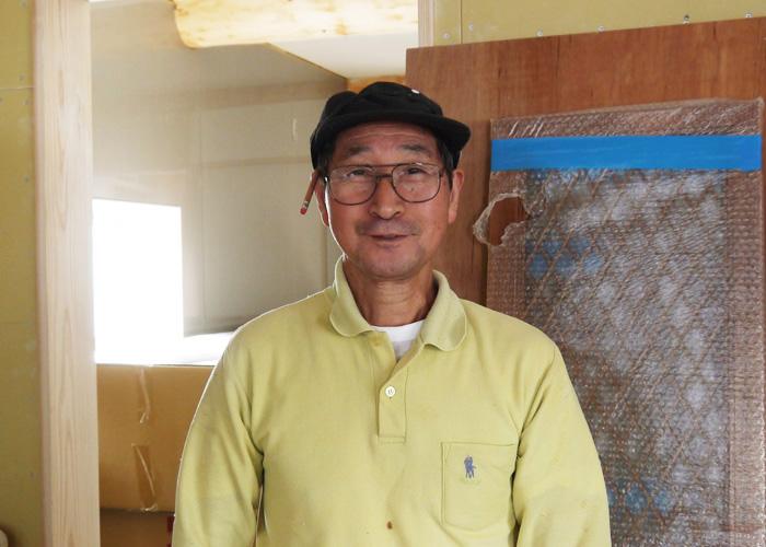 古川原 富雄さんの正面写真
