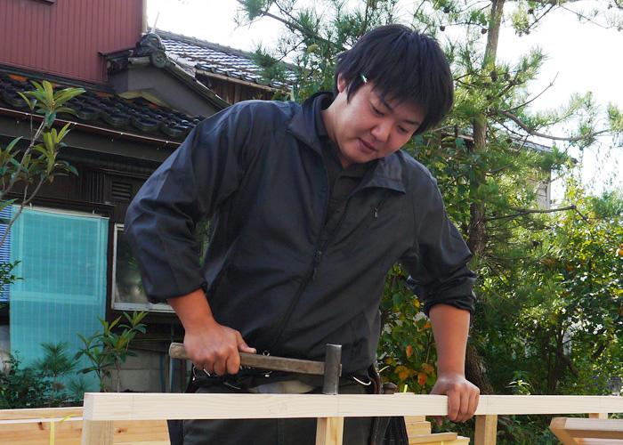 小林 利光さんの仕事風景の写真