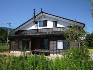 N邸の外観写真