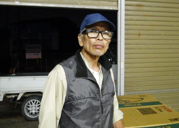 長谷川 弘良さんの正面写真
