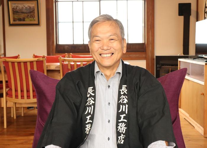 長谷川 一良さんの正面写真